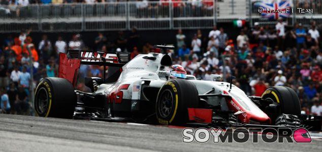 Uno de los monoplazas de Haas, en Austin - LaF1