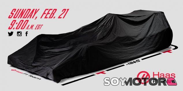Haas F1 presentará su monoplaza el 21 de febrero a las 15:00 horas