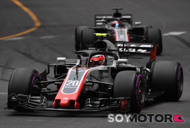 Magnussen y Grosjean en Mónaco - SoyMotor.com
