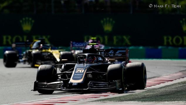 Kevin Magnussen en el GP de Hungría F1 2019 - SoyMotor