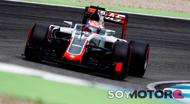 Romain Grosjean en Alemania - laF1