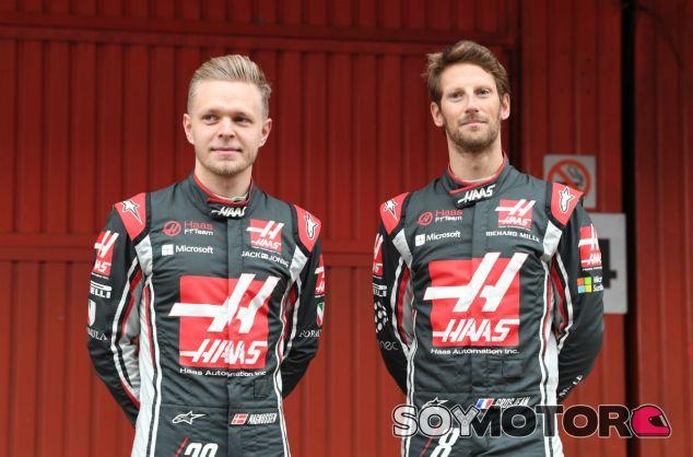 Haas confirma a Grosjean y Magnussen para 2018 - SoyMotor.com