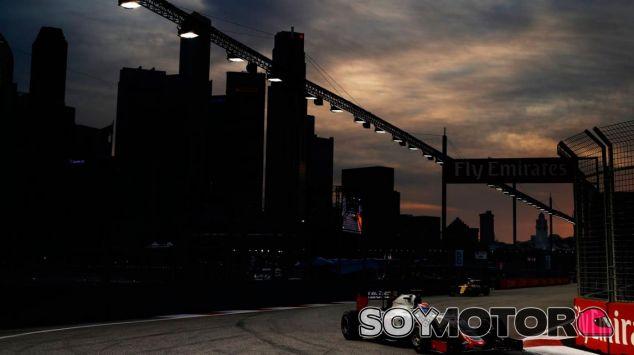 Romain Grosjean en Singapur - LaF1