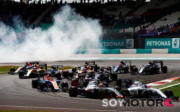 Salida del Gran Premio de Malasia - LaF1