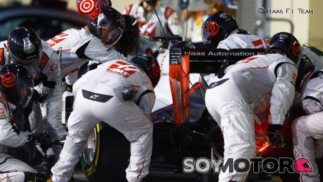 Parada en boxes de Haas F1 - SoyMotor