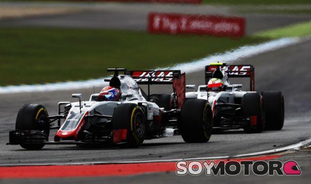 Romain Grosjean y Esteban Gutiérrez en Alemania - LaF1