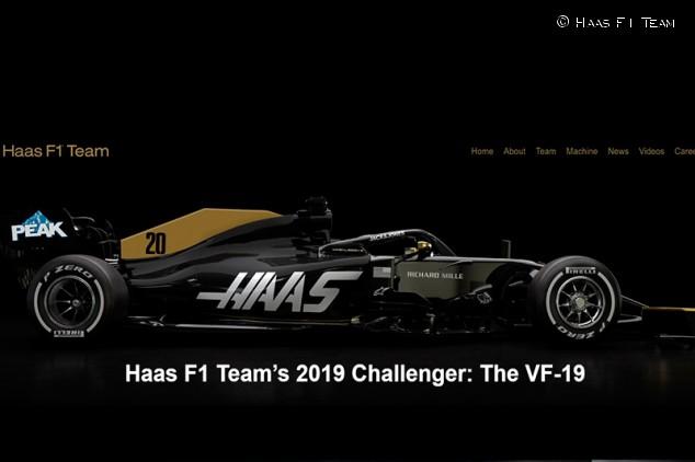 Haas muestra la nueva decoración con la que correrá desde Singapur - SoyMotor.com