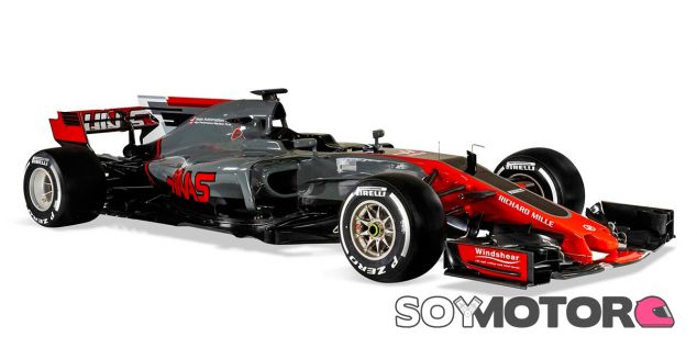 Haas VF17 - SoyMotor