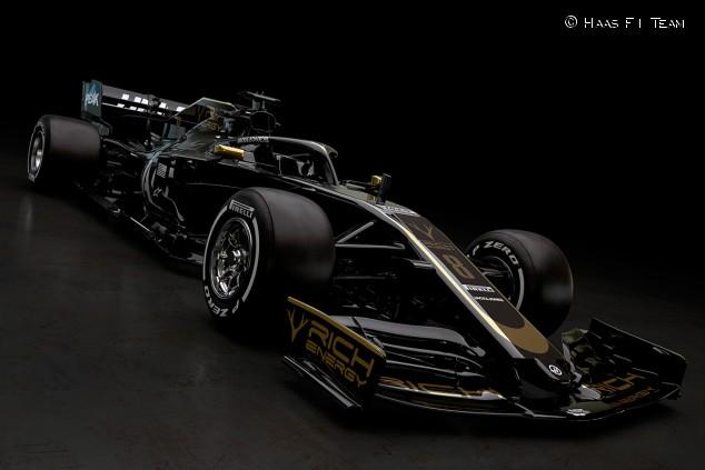 Librea de Haas para la temporada 2019 de Fórmula 1 - SoyMotor