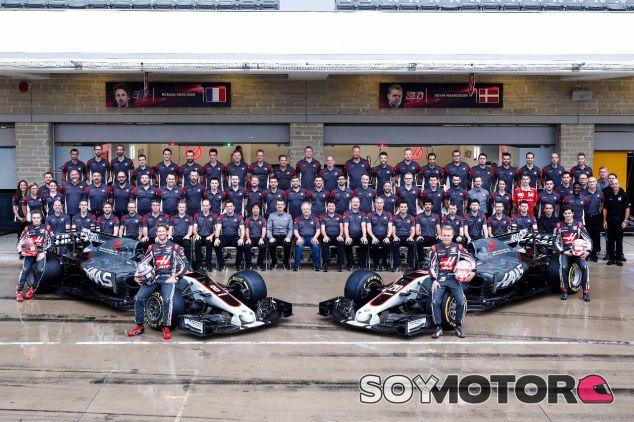 Formación del equipo Haas en Austin – SoyMotor.com