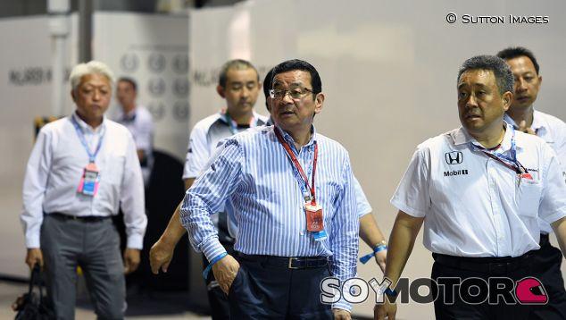 Hachigo, durante el GP de Singapur del año pasado - SoyMotor