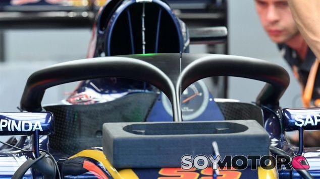 El halo en el monoplaza de Toro Rosso - SoyMotor