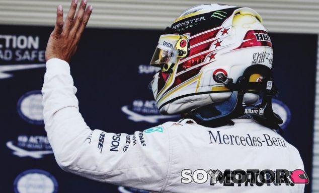 Hamilton, en el trazado Hermanos Rodríguez - LaF1