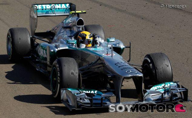 Lewis Hamilton, vencedor del GP de Hungría