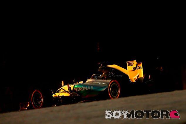 Lewis Hamilton no pudo batir a Rosberg hoy - LaF1