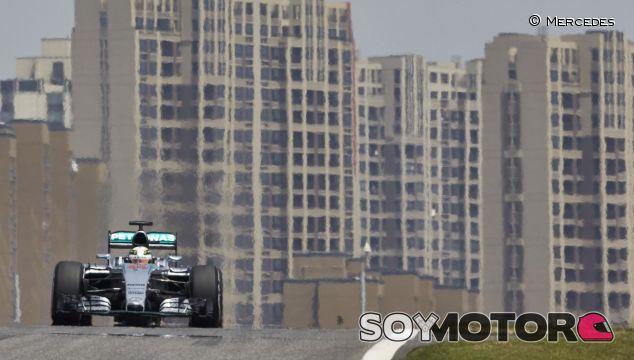 Lewis Hamilton en el pasado Gran Premio de China - LaF1