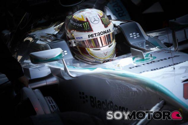 Hamilton se muestra en contra de dar más protagonismo a la aerodinámica - LaF1