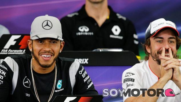 Hamilton y Alonso son los elegidos por Max - LaF1