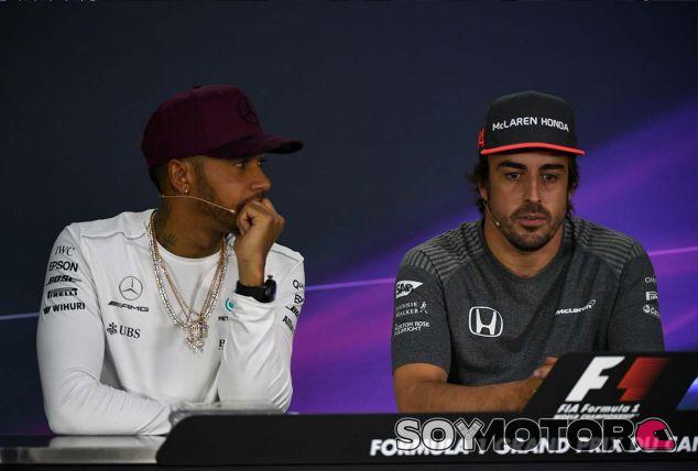 Lewis Hamilton y Fernando Alonso en Canadá - SoyMotor.com