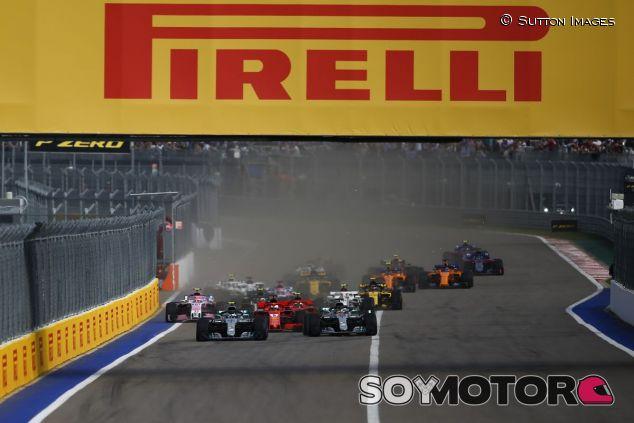 Salida del GP de Rusia 2018 - SoyMotor.com