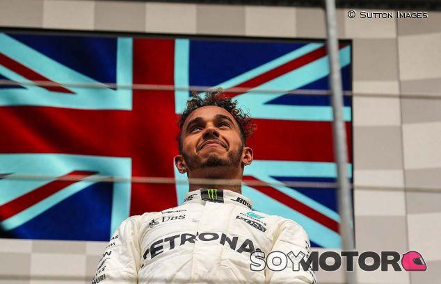 Lewis Hamilton en Spa - SoyMotor.com