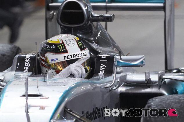 Hamilton, y todos los pilotos de la parrilla, correrán con Bianchi en sus pensamientos - LaF1