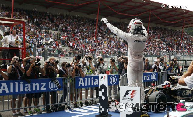 Lewis Hamilton en Spa-Francorchamps - LaF1