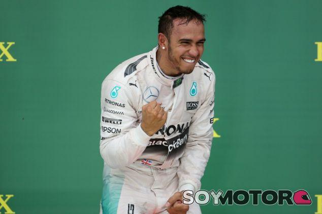 Hamilton, favorito para la temporada 2016 - LaF1