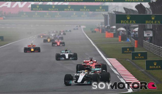 Mercedes en el GP de China F1 2017: Domingo - SoyMotor.com