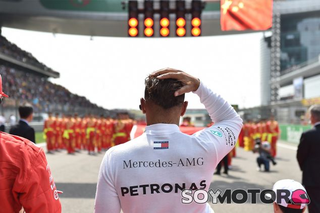 Lewis Hamilton en Shanghái - SoyMotor.com
