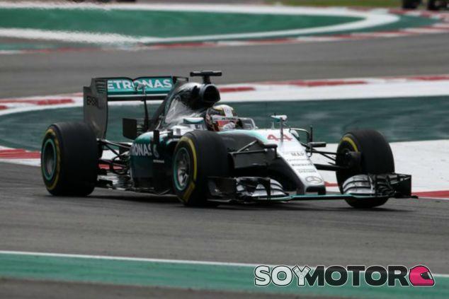 Hamilton por detrás de Rosberg en la clasificación de México - LaF1