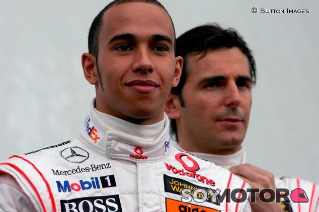 El día que De la Rosa vio que Hamilton no es de este mundo - SoyMotor.com