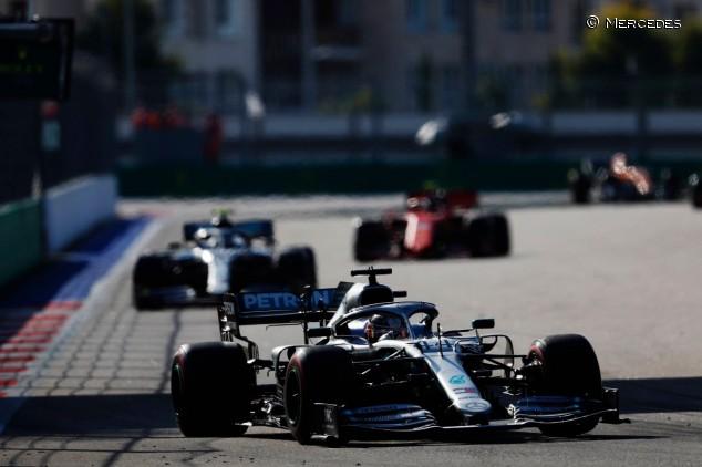 Lewis Hamilton en el GP de Rusia 2019 - SoyMotor