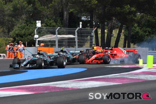 Salida del GP de Francia - SoyMotor