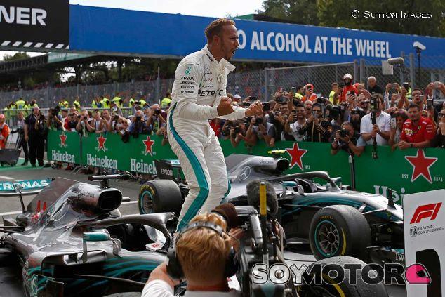 Lewis Hamilton, triunfador en el GP de Italia - SoyMotor