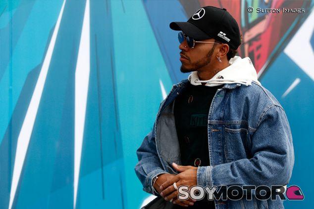 Lewis Hamilton en Interlagos - SoyMotor.com