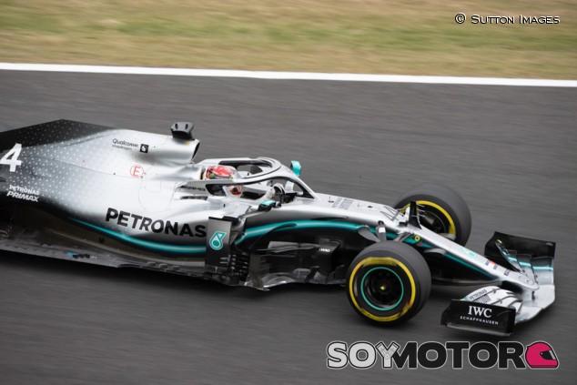 Mercedes en el GP de Japón F1 2019: Viernes  - SoyMotor.com