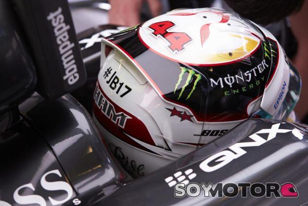 Lewis Hamilton lleva muy presente a Jules Bianchi en su caso para Hungría - LaF1