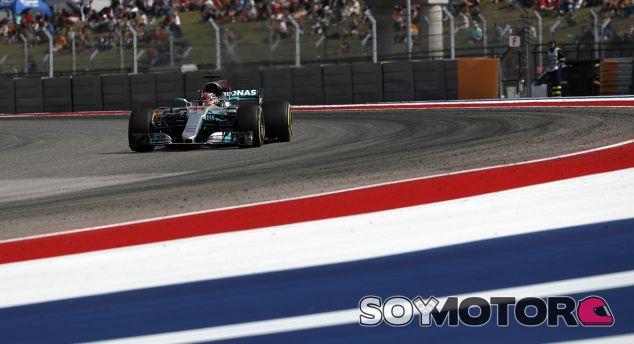 Hamilton, el más rápido del viernes en Austin - SoyMotor