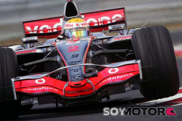 Lewis Hamilton en Hungría 2007 - LaF1