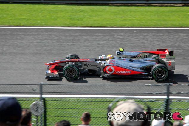Ejemplo de McLaren en 2010 - SoyMotor