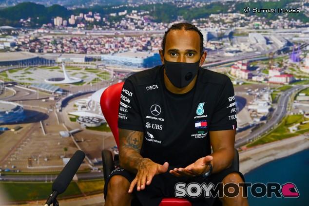 """Hamilton, sobre Rusia: """"No siempre hago las cosas bien"""" - SoyMotor.com"""