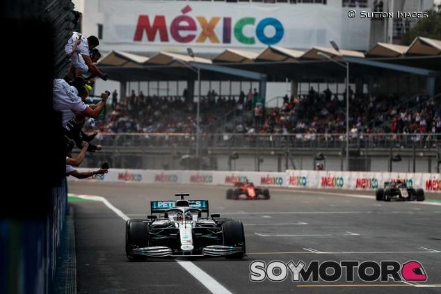 Salida del GP de México F1 2019 - SoyMotor.com
