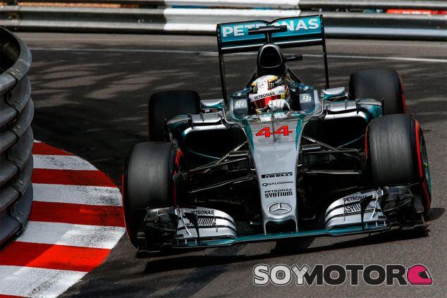 Lewis Hamilton, hoy en Mónaco - LaF1