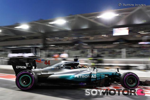 Lewis Hamilton en Abu Dabi - SoyMotor