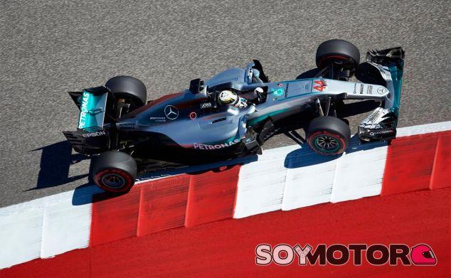Lewis Hamilton en Austin - LaF1