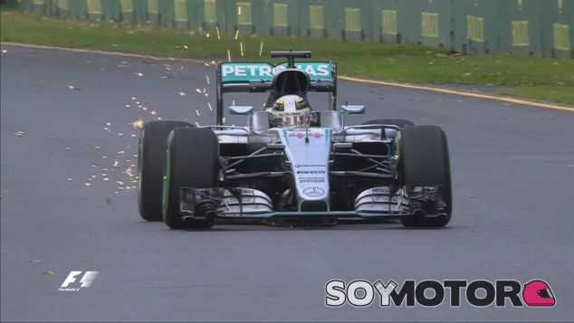 Lewis Hamilton en el Albert Park - LaF1