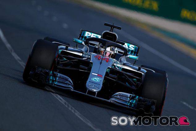 Lewis Hamilton en Australia - SoyMotor