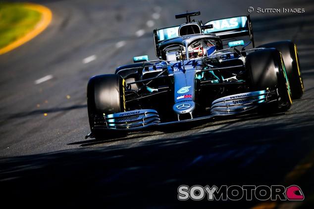 Lewis Hamilton en los Libres del GP de Australia F1 2019 - SoyMotor