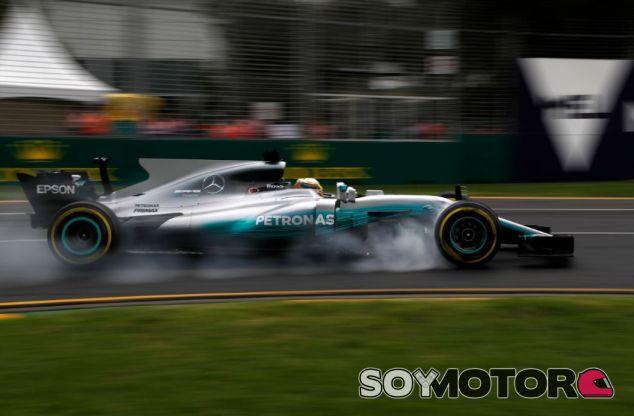Hamilton ha sido el hombre más rápido del día - SoyMotor